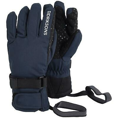 Didriksons Five Youth Waterproof Gloves   Navy