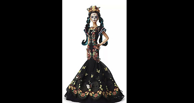 BARBIE DAY OF THE DEAD Dia De Los Muertos Doll Limited Edition IN HAND
