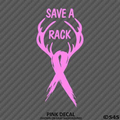 Cancer Awareness Ribbon Pink Wall Car Window Vinyl Decal Sticker Misc Graphic