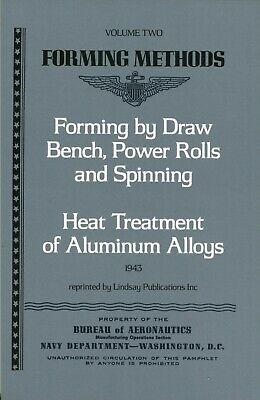 Forming Methods: Draw Bench, Power Rolls and Spinning & Heat Treatment