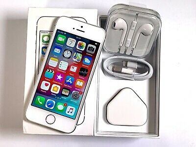Apple iPhone 5s 16GB Silver Unlocked SIM FREE EXCELLENT CONDITION GRADE A