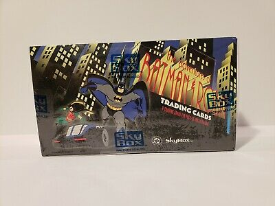 Batman The Animated Series Adventures Of Batman & Robin Trading Card Sealed Box