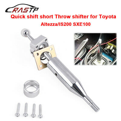 Aluminum Manual Quick Short Throw Shifter Kit For Toyota IS200 Altezza SXE100