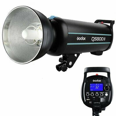 Godox QS800II 800W 2.4G Wireless X System Strobe Flash Light Head Speedlite 220V