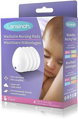 Lansinoh Washable Nursing Pads 4pk