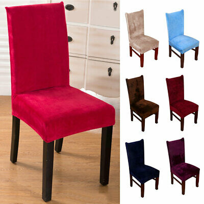 NEW Dining Chair Covers 8Pcs Wedding Party Home Seat Covers Stretch Spandex