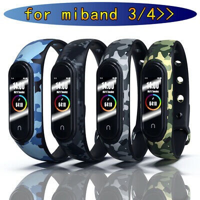 Strap Replacement Bracelet Silicone Wristband Watch Band Fits Xiaomi MI Band 4 3