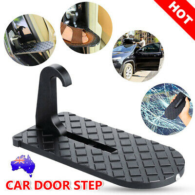 Car Door Step Latch Hook Foot Pedal Ladder for Jeep SUV Truck Portable Folding