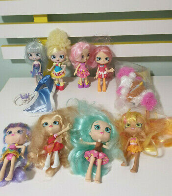 Shopkins Doll Lot 8 Dolls Plus Some Odds And Ends