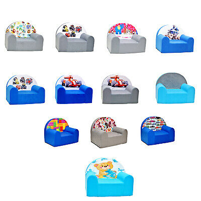 MILLYBO Kinder Sessel Kindersessel Kindermöbel Mini Sessel Kindersofa Muster
