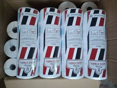 Barbers Neck Tape On A Roll. Professional Salon Neck Tape.10 packs 50 rolls