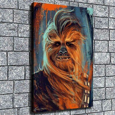 "12""x18"" star wars poster character HD on Canvas Home Decor Room Wall Art paints"