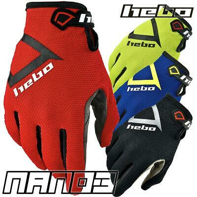 Hebo 2020 NANO PRO 3 Trials Gloves - In 4 Colours
