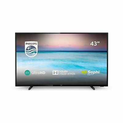 Philips 43PUS6504/12 TV 43 inch LED Smart TV 4K UHD, HDR, Dolby Vision in Black