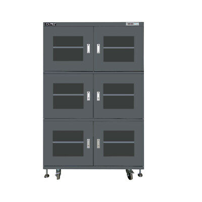 CATEC Electronic Humidity Control Dry Cabinet 1436 L 6 Door