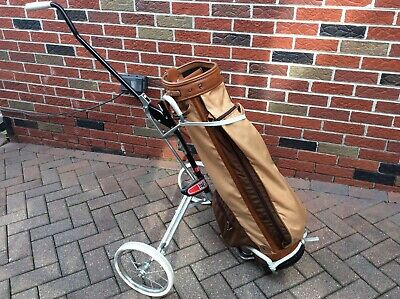Vanguard Golf Bag With Pull Cart Pre-Owned
