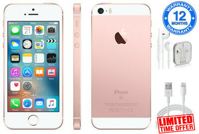 Apple iPhone SE 32GB (Unlocked) Smartphone - Rose Gold - Warranty - Limited Time