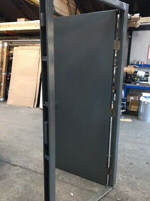 Industrial Commercial Steel Doors* Fire Exit Personnel* Different Sizes Colours