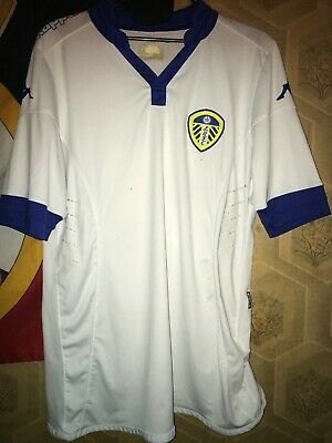Kappa Leeds United Football Shirt Jersey Mens Size M