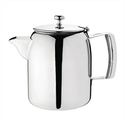 Olympia Cosmos Tea Pot Stainless Steel 1.4 Litre J324 [512V]