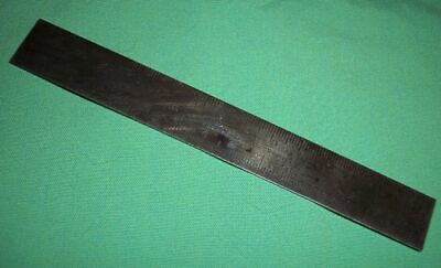 "Vtg Starrett  340 Mm 15 Metric Tempered Steel Made Usa Machinist 6"" Scale Rule"
