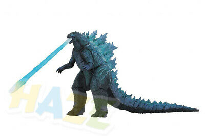 Movie Godzilla Figure King of the Monsters Figure Movable Model Spray Blue