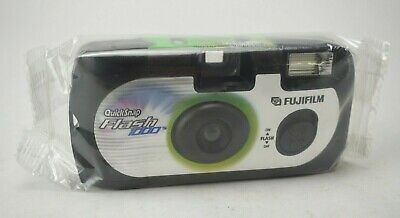 Fujifilm QuickSnap Flash 1000 ASA Disposable Single-Use 35mm Camera 27 EXP