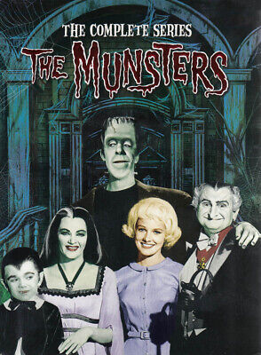 The Munsters: The Complete Series (Boxset) (Dvd)