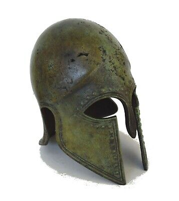 Corinthian Bronze small Helmet - Ancient Greek reproduction Artifact - Handmade