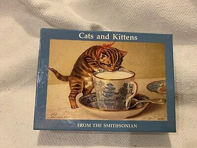 """Smithsonian """"Cats and Kittens"""" notecards"""