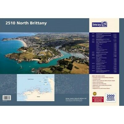 PACK CARTES MARINE IMRAY 2510 NOTH BRITTANY alciumpeche