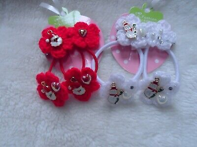 christmas hairbands bobbles ponio christmas hair clips slides accessories bows