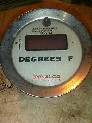 Dynalco STM-110 Degrees F used