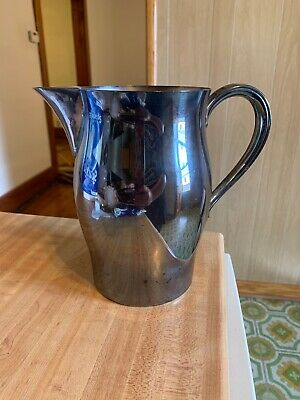 WM Rogers PAUL REVERE Reproduction Silverplate Water Pitcher 64oz