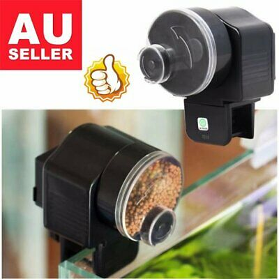 Automatic Fish Feeder Aquarium Tank Pond Food Auto Dispenser Pet Timer Feeding##