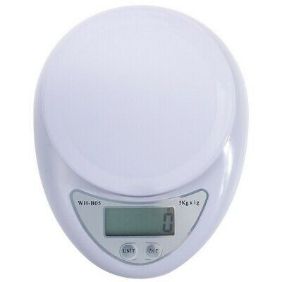 LCD Digital 5kg Kitchen Electronic Balance Scale Food Weight ABS Jewelry Scales