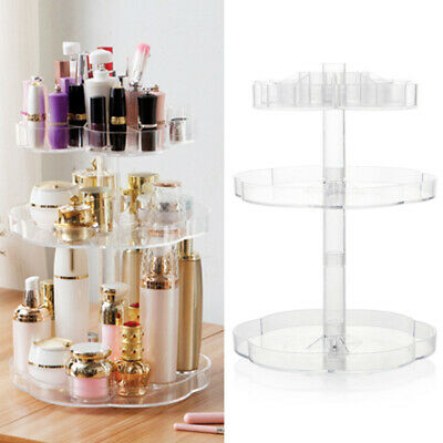 LARGE 360° ROTATING Cosmetic Organizer Makeup Holder Jewelry
