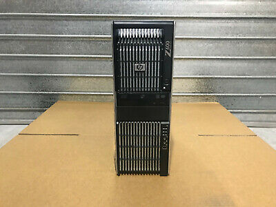 HP Z600 12 core Workstation 2x X5660  / 48GB RAM /1x Quadro FX380 / NO HDD