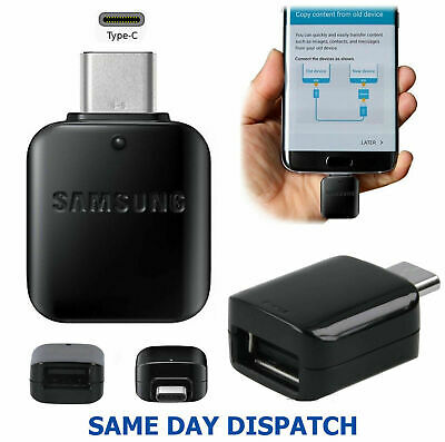 Genuine Samsung USB TYPE-C Data Transfer OTG Adapter For Galaxy A20e A30 A40 A50