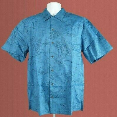 Tim Cotterill 100% Cotton Campshirt Frogtails Denim Haw/Style Shirt, Size XL.New