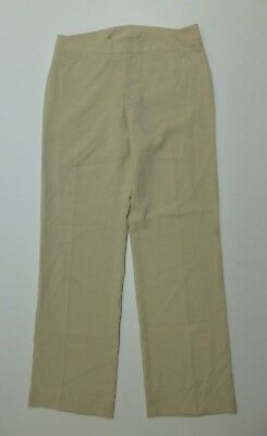 XOXO Dress Pants Womens Size 11 Beige Flat Front Good Condition