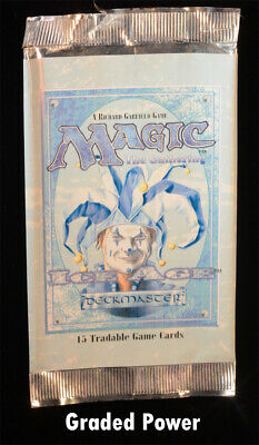 Ice Age Jester Cap Booster Pack (EMPTY) Empty Packs & Boxes Magic MTG