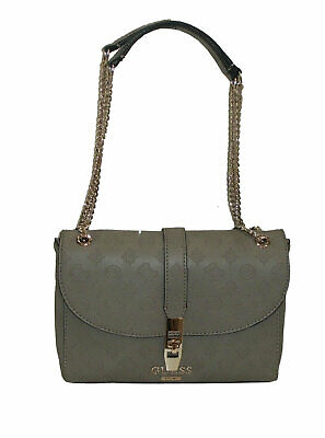 Borsa Guess a mano tracolla mod Brightside shoulder bag brown rose BS20G Dimensioni borsa PICCOLA