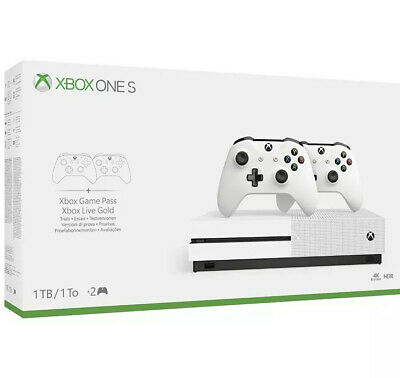 Xbox One S 1TB Console - Two-Controller Bundle