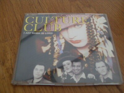 Culture Club - I Just Wanna Be Loved  3 Track Cd Single