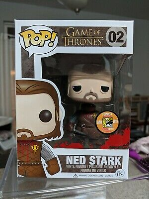 Funko POP! Ned Headless Stark SDCC 2013 1008 Pcs Limited Edition ***MINT***