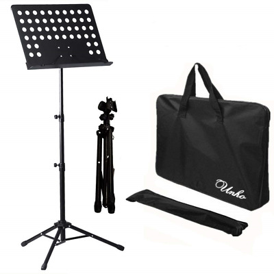 Malayas Heavy Duty Conductor Orchestral Sheet Music Stand Tripod Base Folding 50