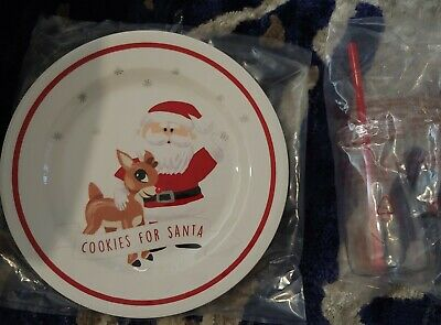 Pottery Barn Kids Christmas RUDOLPH  Reindeer COOKIES FOR SANTA NEW CHRISTMAS