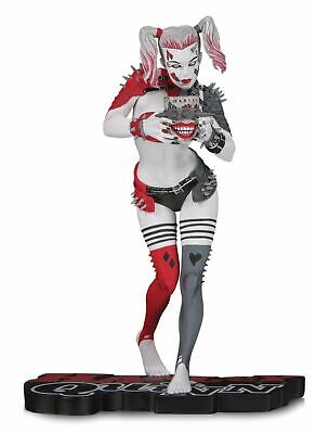 DC Collectibles Harley Quinn Red White & Black Greg Horn Statue