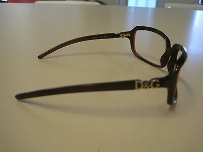Dolce & Gabbana Model 2192 Frames only, brown, GUC